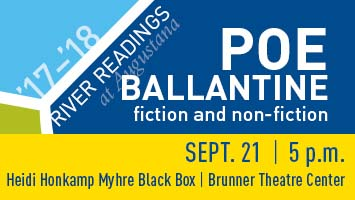 poe ballantine river readings