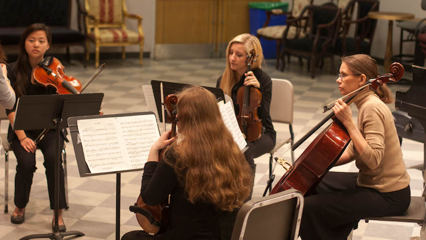 Honors String Quartets | Augustana College