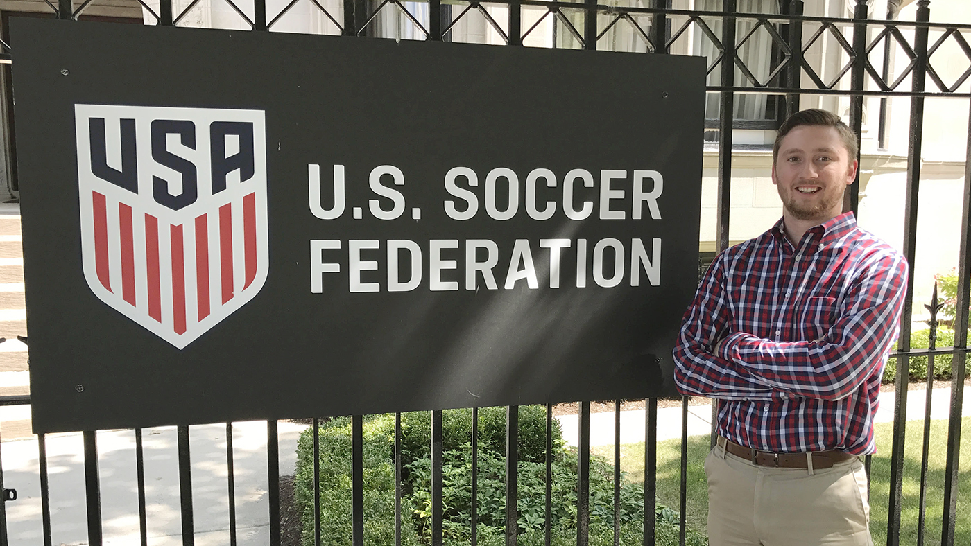 Patrick Conniff at U.S. Soccer