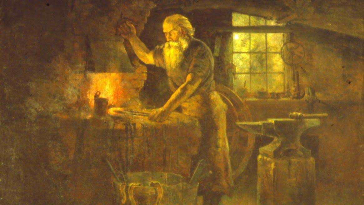 """The Blacksmith"" by Frank Lundahl"