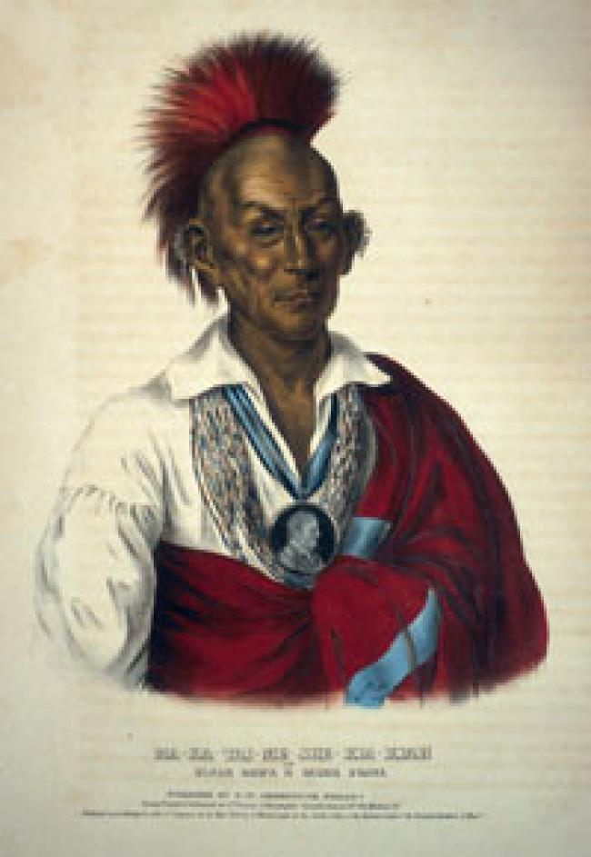 Portrait of Black Hawk