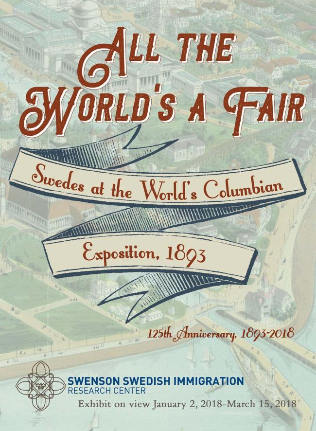 all the world's a fair exhibit poster