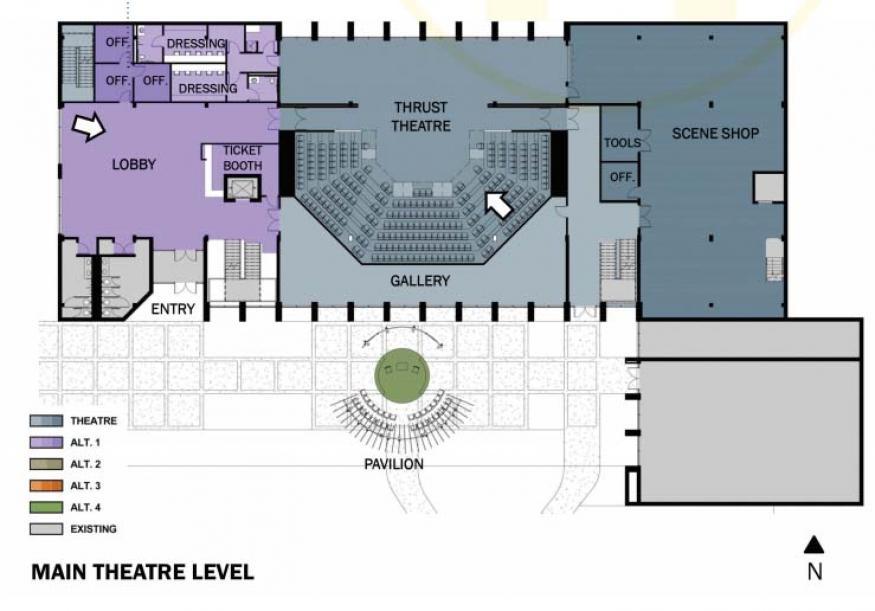 Construction of new theatre center underway augustana college theatre brunner malvernweather Images